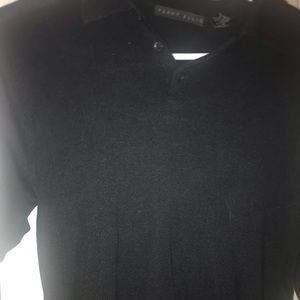 Black perry Ellis polo